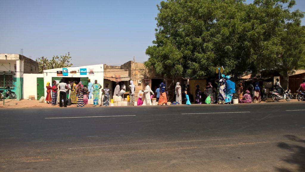 Kiosk in Koutal