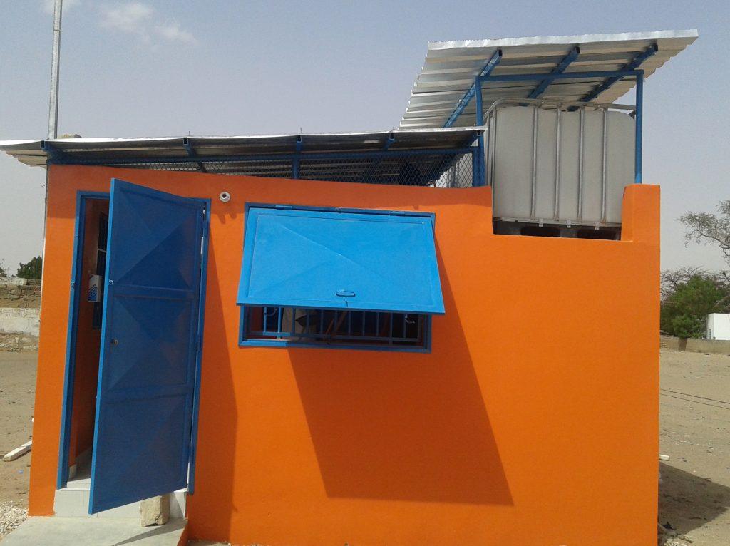 Kiosk in Mbacké