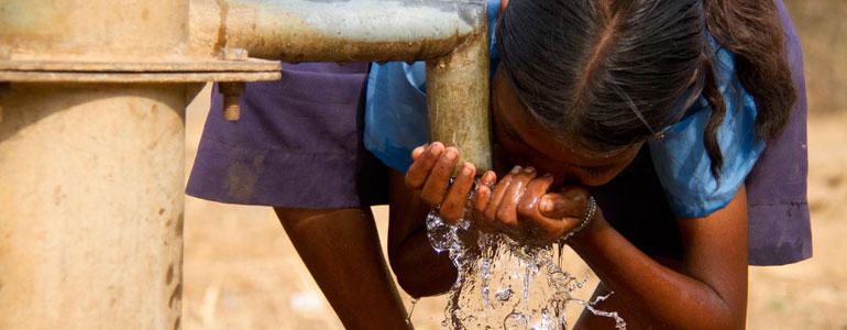 La qualité de l'eau est un défi mondial
