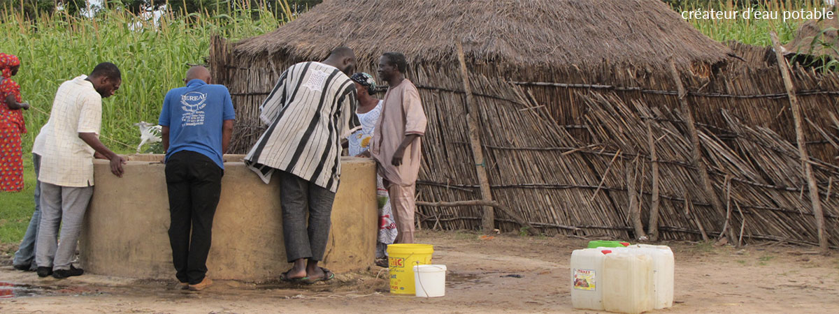 Still 1,8 Billion People with no Access to Safe Drinking Water